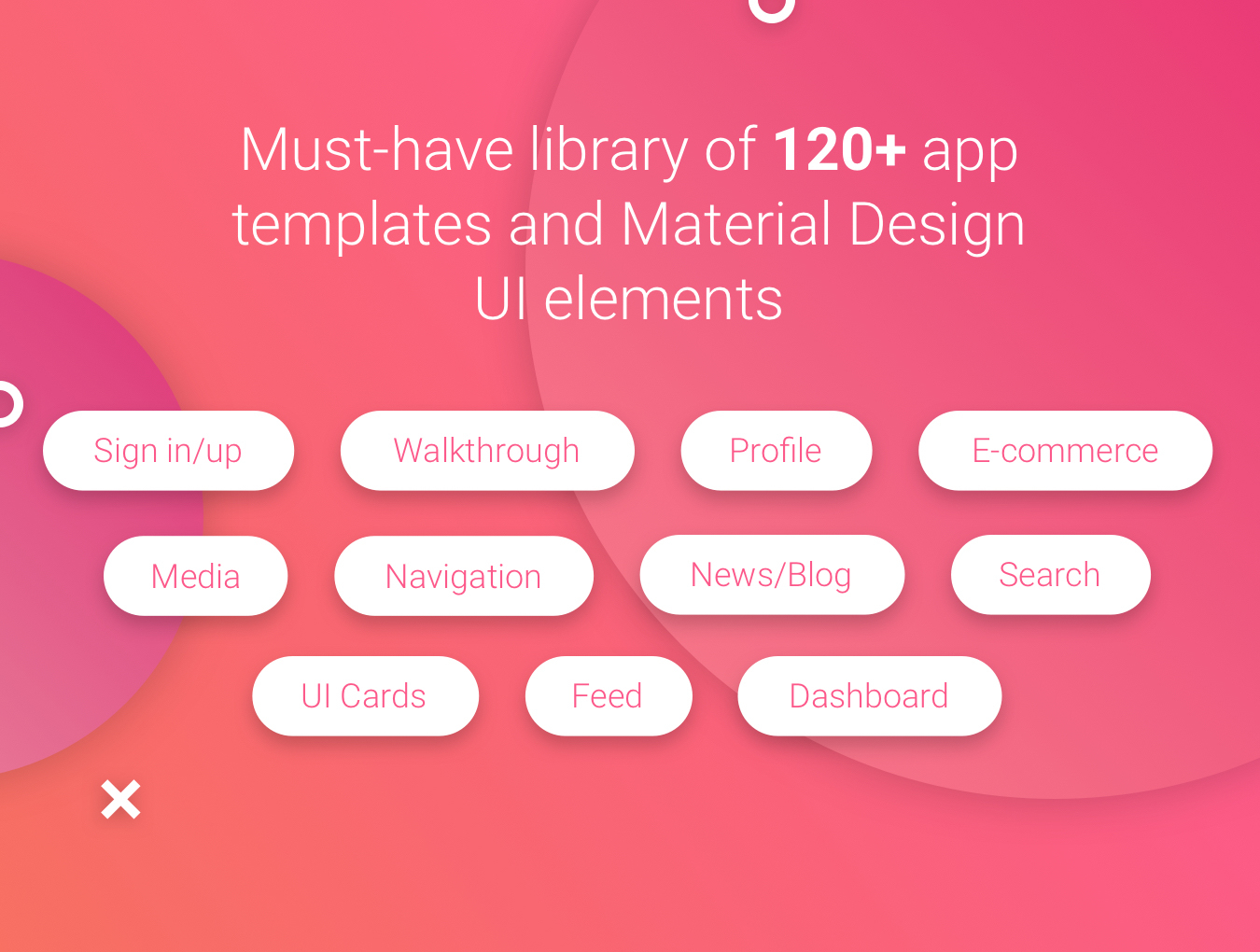 少见的Material UI Kit下载[最美安卓APP UI KITS FOR Sketch]