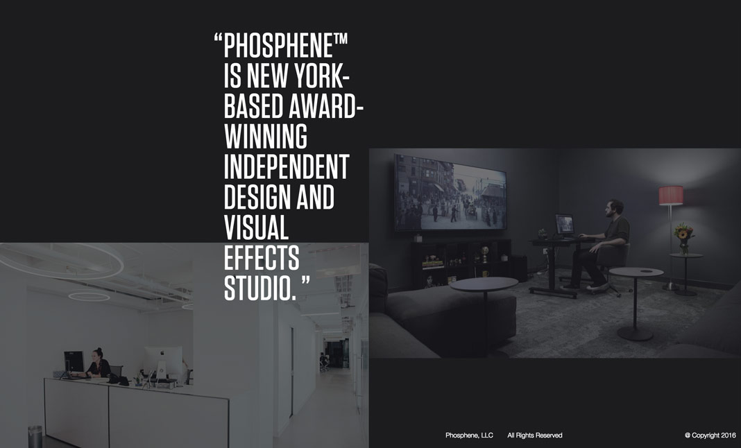 Phosphene website