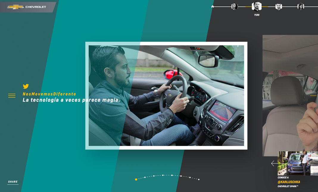 A New Generation Of Drivers. website