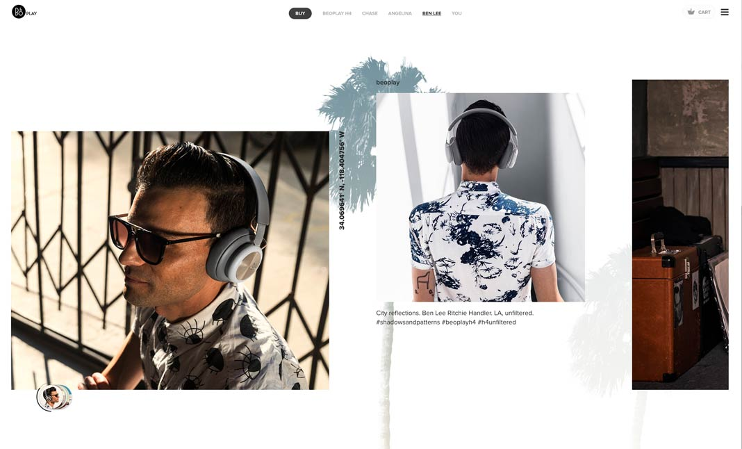 Beoplay H4 - UNFILTERED website