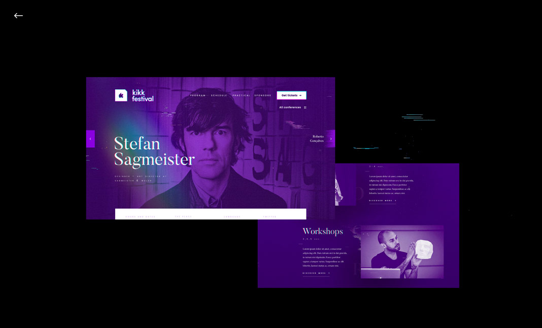 Julien Lozingue - Portfolio website