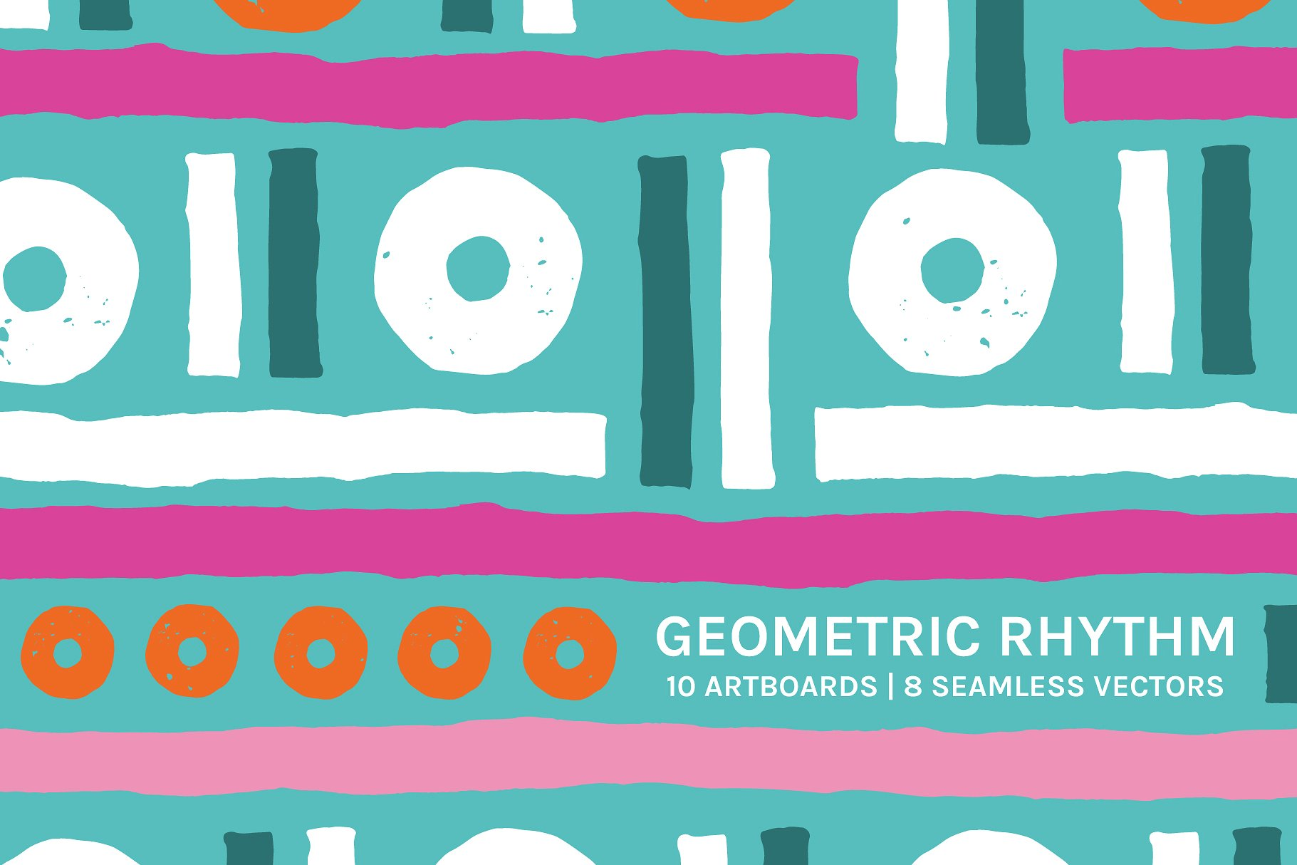 <span class='yzk_title_61202'>手绘几何图案无缝纹理 Geometric Rhythm | Boards + Patterns</span>